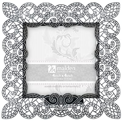Malden Sabella Lace Metal Picture Frame