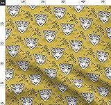 Dschungel, Safari, Katzen, Katze, Panther, Leopard Stoffe -