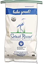 product image for Great River Organic Milling, Bread Flour Blend, Sunflower Millet Blend, Stone Ground, Organic, 25-Pounds (Pack of 1)