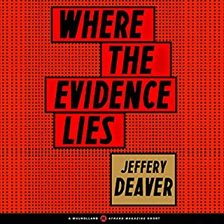 Where the Evidence Lies audiobook cover art