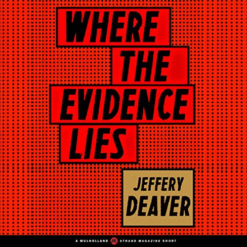 Where the Evidence Lies cover art