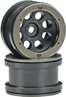 AX8088 8-Hole 1.9 Beadlock Wheel Satin Chrome Horizon Hobby 2