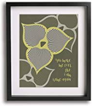 Love Song by The Cure inspired song lyric art print