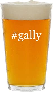 #gally - Glass Hashtag 16oz Beer Pint
