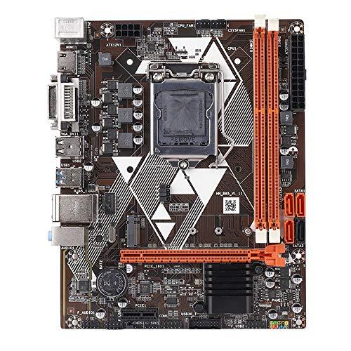 SovelyBoFan Placa Base B85 LGA 1150 Dual Canal DDR3 Compatible con Placa Base 8Gx2 M.2 para 2Nd 3Rd I3 I5 y I7 Pentium Celeron Series