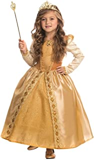 Girls Majestic Golden Princess Costume