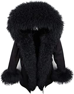 Best mongolian sheep fur coat Reviews