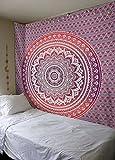 Mandala Tapisserie Hippie Mandala Gypsy Bohemian Traditionelle indische Wandbehang Tabelle Vorhang Wand Deko Tisch Couch Bezug Picnic Throw, Beach Überwurf