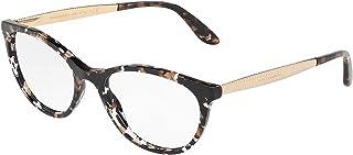 328bb1906b Dolce & Gabbana 0DG3310 Monturas de gafas, Pearl Grey Havana, 54 para Mujer