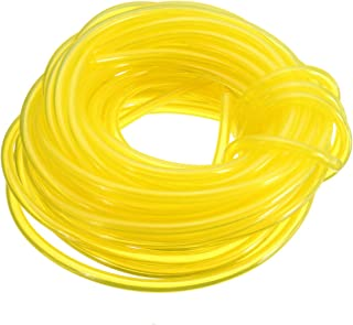 yellow fuel hose