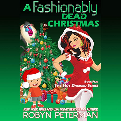 A Fashionably Dead Christmas audiobook cover art