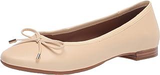 Aerosoles Women's CRYSTAL Ballet Flat, OFF WHITE, 8