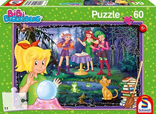 Schmidt Spiele 56398 Bibi & Tina Bibi Blocksberg, Voll verhext, 60 Teile Kinderpuzzle, Bunt