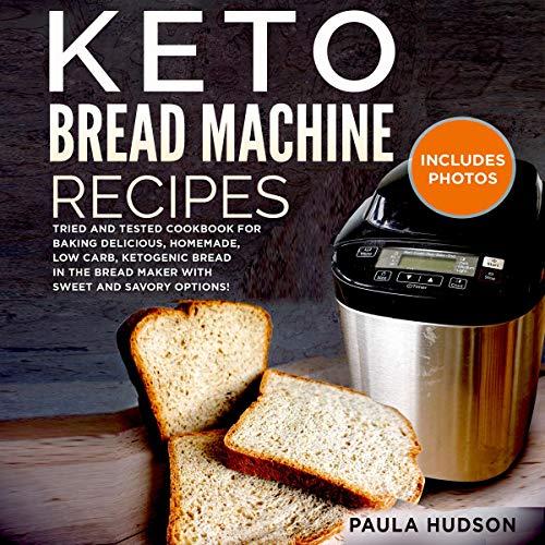 Keto Bread Machine Recipes cover art