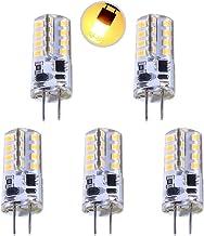 LEKIBOP GY6.35 LED Bulbs Beads Lighting AC 12V 3W Corn Light 32 Pcs 2835 SMD Bi-Pin GY6.35 Base No Strobe Flicker Free Hal...