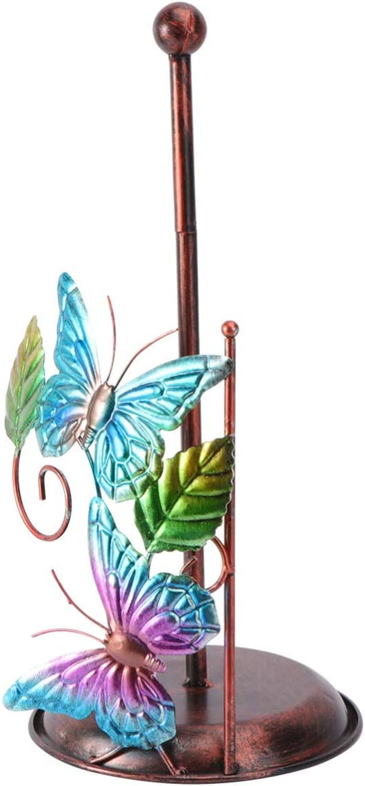 ADSE Tissue Roll Holder Stand Colorado Springs Mall online shop Statue Paper Decorative Butterfly