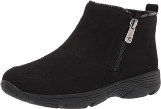 Easy Spirit Women's VEER8 Ankle Boot, Black, 9