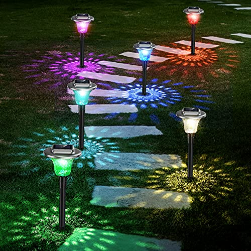 Outdoor Solar Landscape Path Lights