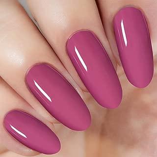 Pink Nail Dipping Powder (added vitamin) I.B.N Acrylic Dip Powder Colors, 1 Ounce/28g, No Need Nail Dryer Lamp Cured (DIP 021)