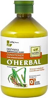 OHerbal Acondicionador Fortificante Natural Ecológico Para Pelo/Cabello Sin Sulfatos Ni Siliconas con Extracto De Raíz De...