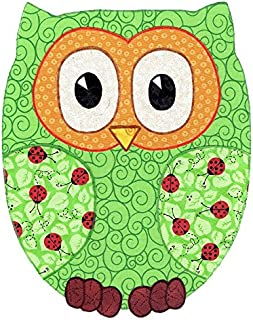 Baby Quilt Patterns by Kiddie Komfies, Owl Patchwork Quilt Pattern Boy Girl Quilt Kit Easy 42