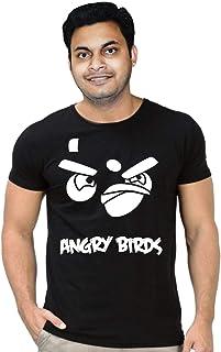 FMstyles Angry Bird Black Unisex Tshirt - FMS314