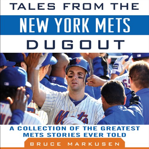 Tales from the New York Mets Dugout audiobook cover art