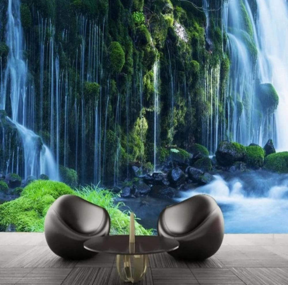 Chinese Style Waterfall Natural Scenery Max 46% OFF R Mural Living Max 63% OFF Wallpaper