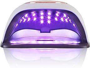 168W Gel UV LED Nail Lamp, Nail Lamp 42 Lights Dual Light for Gel Polish Nail Curing, Nail Dryer Nail Light with 4 Timers,...