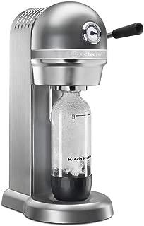 KitchenAid RKSS1121CU Sparkling Beverage Maker, Contour Silver (Renewed)