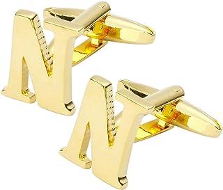 أزرار أكمام ذهبية اللون للرجال من Thot Ra ايه-252
