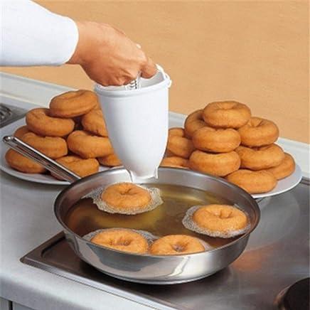 3 St/ück Silikon-Donut-Formen Bagels Rosa 6 Hohlr/äume Backform f/ür Kuchen Gr/ün Kekse Orange Muffins Rot hitzebest/ändig antihaftsicher