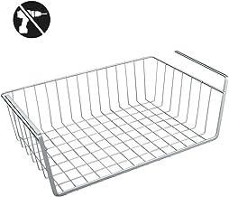 Metaltex kanguro koszyk pod regał, stal, srebrny, 40 x 26 x 14 cm, 40 cm