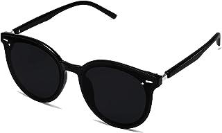 Classic Round Retro Plastic Frame Vintage Inspired Sunglasses BLOSSOM SJ2067