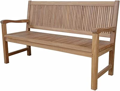Anderson Teak Chester 3-Seater Bench Without Cushion