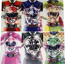 SDCC 2015 Exclusive Mighty Morphin' Power Rangers 11x7 1/2 inch Comic Cover Print Set by Boom! Studios