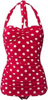 Women's 50's Pin Up Swimsuit