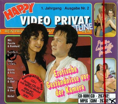 Erotische Geständnisse vor der Kamera - CD Rom