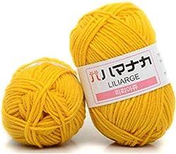 25g Zachte katoenen gebreide trui sjaal breien haak 4ply zacht garen kleurrijke ambacht gebreid (Color : No. 49)