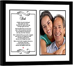 Father Gift from Daughter, Sweet Poem for Dad, Add Photo
