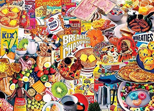 HYYAY Frühstück der Champions - Kunst - Puzzlespiel - Klassiker - Collector\'s Edition