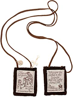 Venerare Holy Subject Scapulars   16 Subjects   100% Wool   Comes with Enrollment Papers
