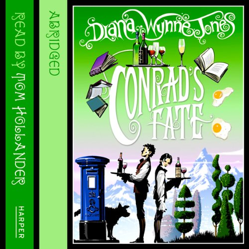 Conrad     The Chrestomanci Series              By:                                                                                                                                 Diana Wynne Jones                               Narrated by:                                                                                                                                 Tom Hollander                      Length: 5 hrs     30 ratings     Overall 4.6