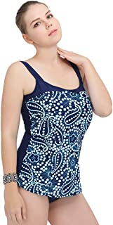 Plus Fat Large Size Swimsuit Female 100 Kg Fat XL-5XL Siamese Triangle Printed Swimsuit with Chest Pad Without Steel Support (Color : C, Size : XXXXXL)