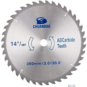 14 Inch Carbide Circular Saw Blade For Cutting Wood Metal Cutter Tool 40~120 T