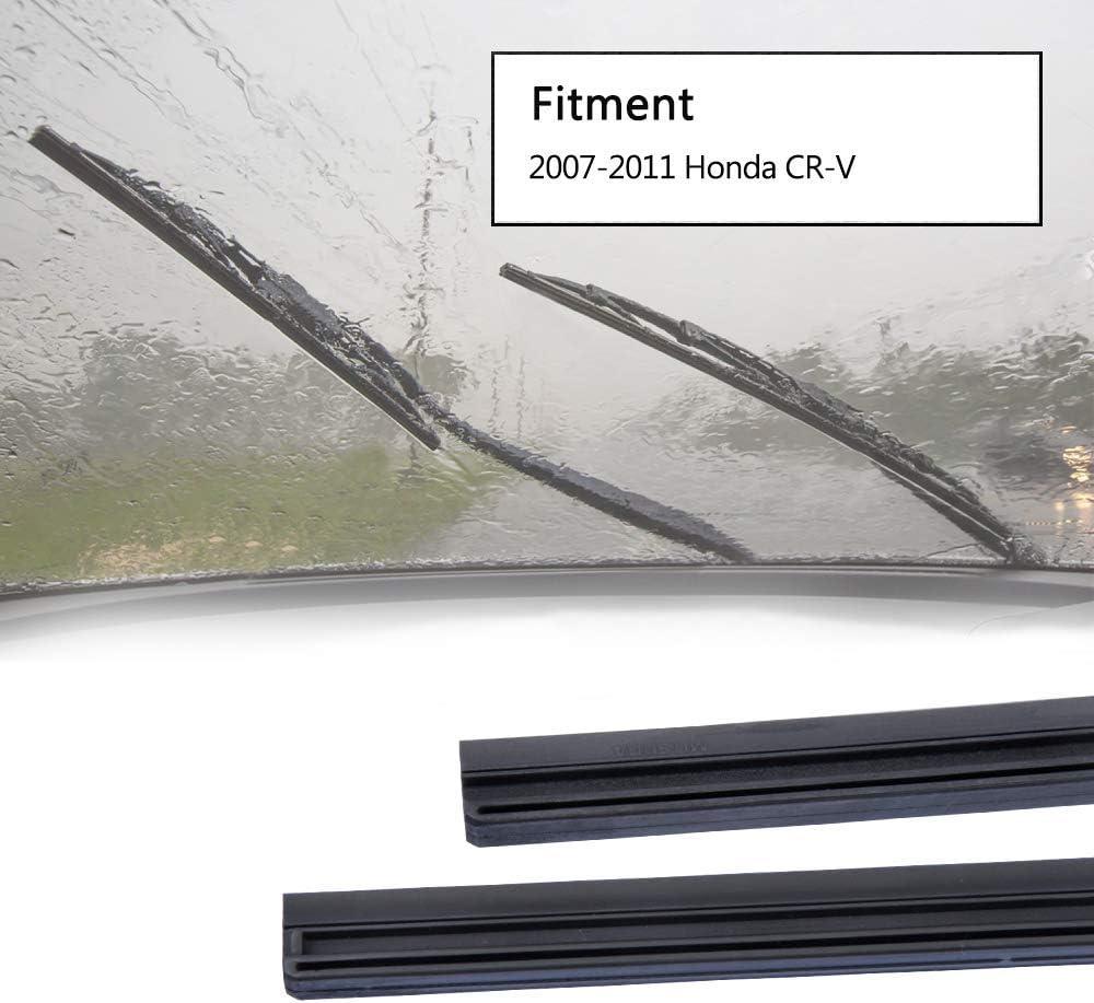 CRV 2002-2006 Alca Spoiler Windscreen Wiper Blades Front Replacement Set 2120 AUS2120H