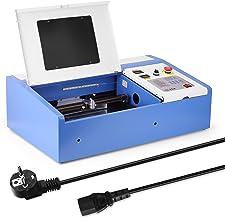 ماكينة قطع النقش بالليزر 40 وات CO2 USB من تشوسمو للخشب والبلاستيك متعددة الوظائف مع شاشة رقمية