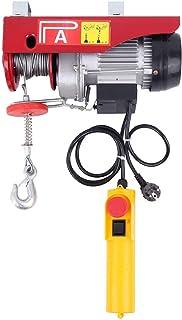 comprar comparacion Ridgeyard Polipasto eléctrico con control Para talleres taller de la tienda casera (550W 125/250Kg)
