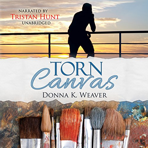 Torn Canvas audiobook cover art