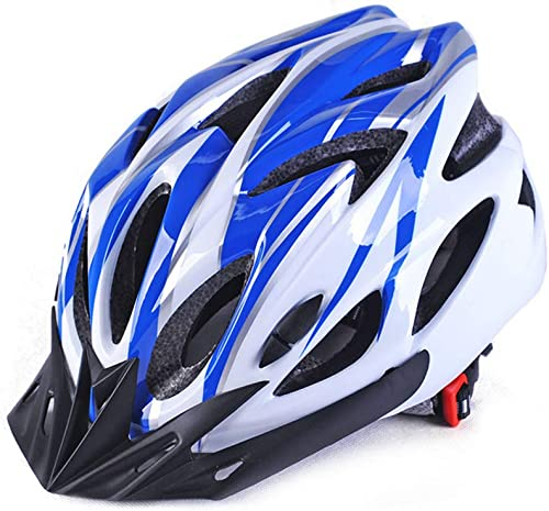 LJSHU Hommes et Femmes vélo Casque sécurité Moule Type Ventilation léger Anti-Choc pour circonférence de la tête 56-62cm Casque
